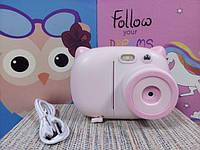 Детский фотоаппарат фотокамера с принтером моментальная печать фото с бумагой для печати