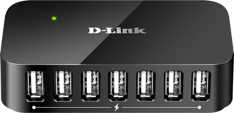 USB-хаб D-Link DUB-H7 7port USB2.0