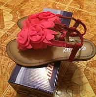 Женские босоножки розовые