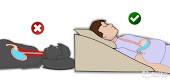 Клиновидная подушка 49*38*14 (R-1-029-R)