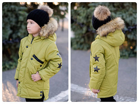 Подростковая зимняя куртка, фото 2