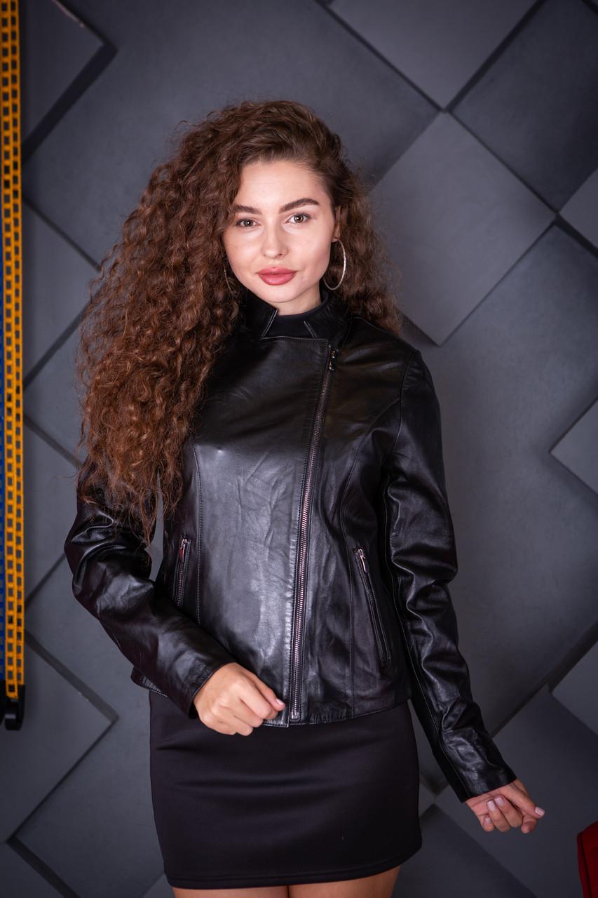Куртка кожаная Oscar Fur 618 Черный