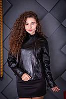 Куртка кожаная Oscar Fur 618 Черный, фото 1