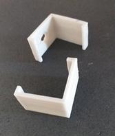 Крепление пластиковое на профиль ЛПУ 17