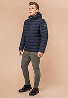 Куртка мужская зимняя синяя с черным Braggart