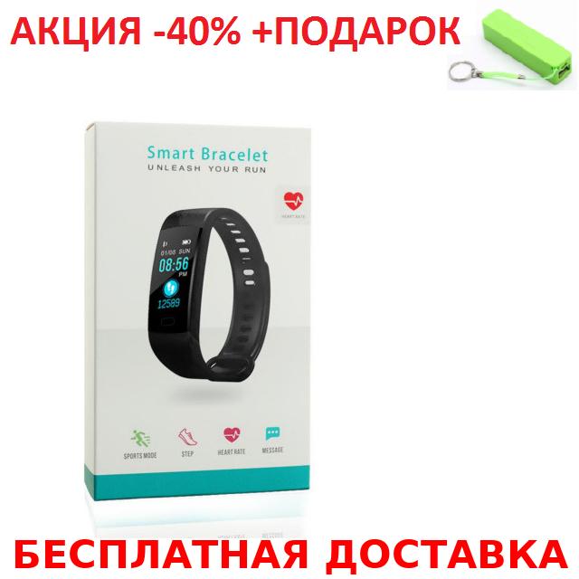 Умный смарт - браслет блистер GORAL Y5 Smart Bracelet Unleash Your Run (Heart Rate, Blood Presure, etc)+Пб, фото 1