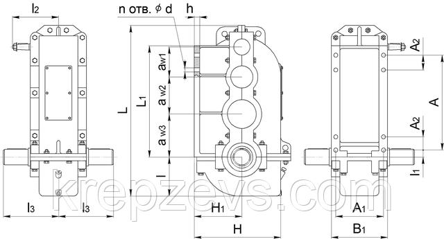 Купить редуктор вертикальный крановый ВК-550 в Украине