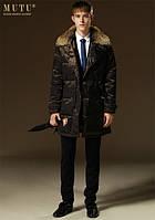 Шкіряні куртки, дублянки чоловічі