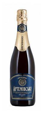 Вино игристое выдержанное Артемовское белое брют 0.75л, фото 2