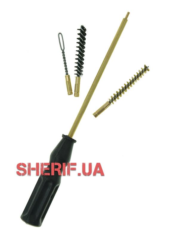 Набор для чистки травматического оружия (ПВХ упаковка) 6 mm  06034
