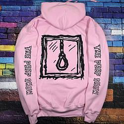 Толстовка розовая LOYS Lil peep L