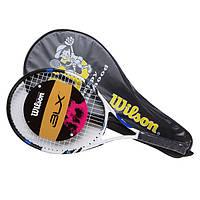 Ракетка для большого тенниса подростковая Wilson 23BLX DearBear (реплика)