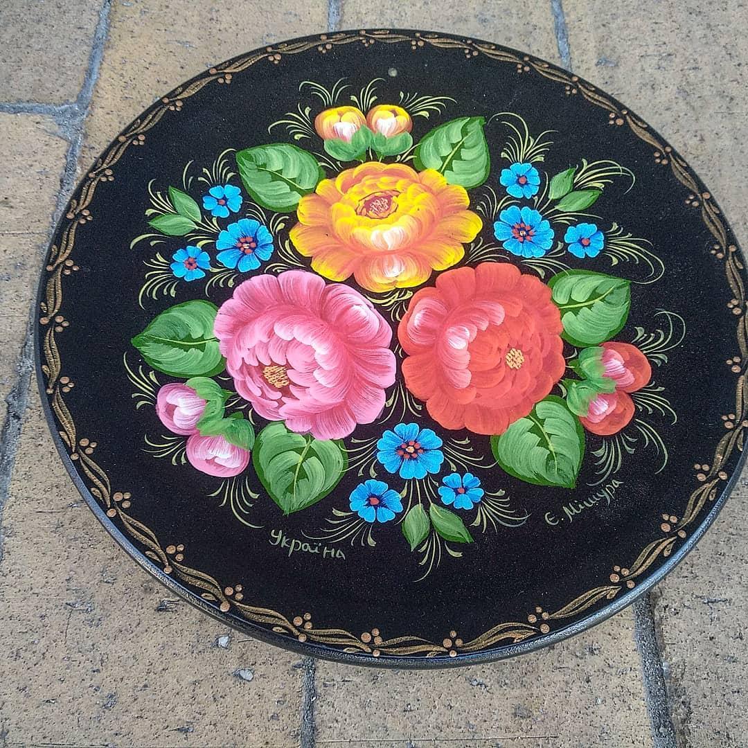 Декоративна тарілка-сувенір, фото 1