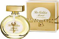 Женская туалетная вода Antonio Banderas Her Golden Secret 80 ml  (Антонио Бандерас Хе Голден Сикрет)