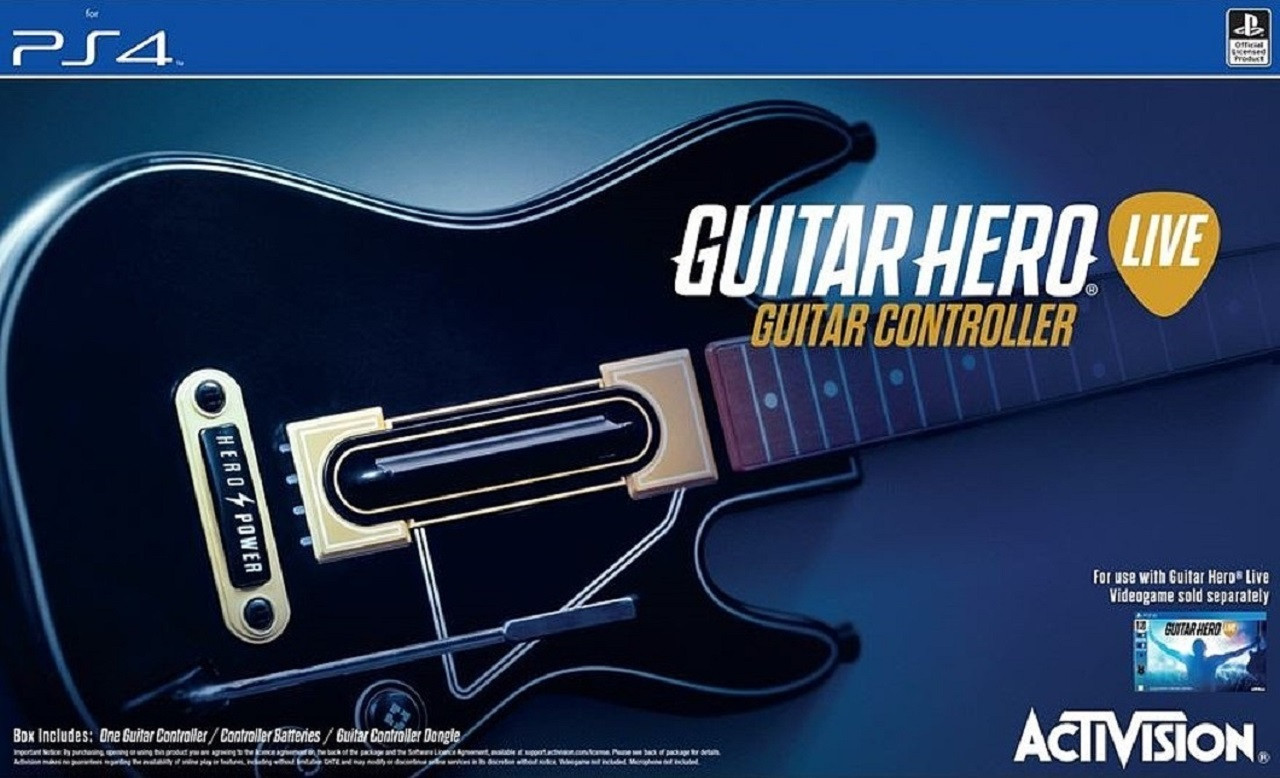 Sony PS4 Guitar Hero Live (без диску)