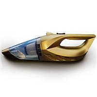 Автомобильный пылесос 5-в-1 с компрессором для сухой и влажной уборки, КОД: 395189