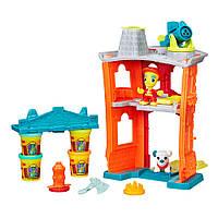 Игровой набор Play-Doh Пожарная станция (B3415)