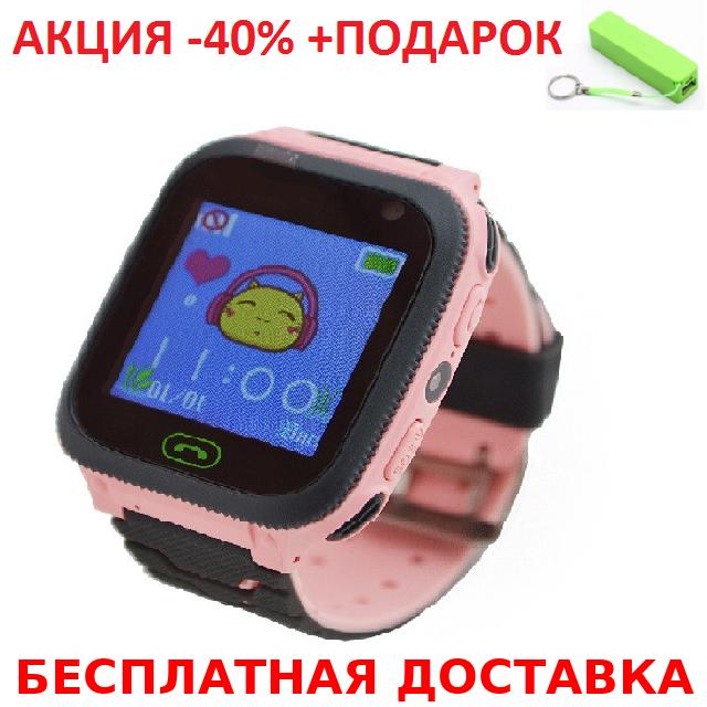 Детские наручные часы Smart F3 смарт  часы телефон GPS трекер детский телефон с кнопкой сос+Power Bank