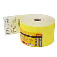 Шлифовальная бумага рулон 115ммх50м P100 Sigma (9114261)