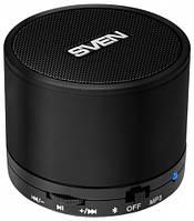 Колонка SVEN PS-45BL черная (3 Вт, Bluetooth, microSD, FM-тюнер, АКБ Li-Lon)