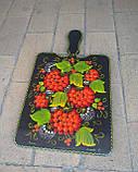 Дошка кухонна сувенірна з розписом, фото 2