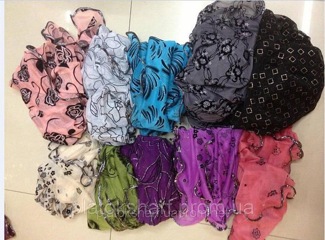 Шарфы, красивые нарядные шарфы, фото 2