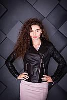Куртка кожаная Oscar Fur 605 Черный, фото 1