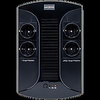 ИБП линейно-интерактивный LogicPower LP 650VA-PS (390Вт) Источники бесперебойного питания (UPS)