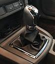 Ручка кпп с чехлом кулисы 5 ступеней Ford Focus 2 (Форд Фокус 2) 2004-2011 г.в. чёрная, фото 6