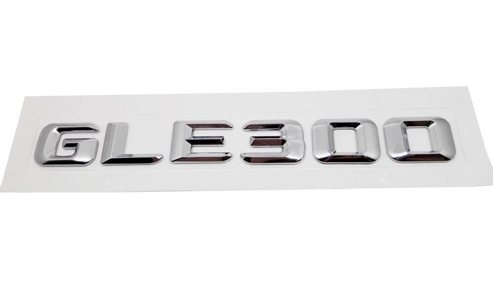 Хромированная Эмблема Шильдик надпись GLE300 Мерседес Mercedes