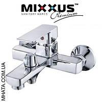 Смеситель для ванны короткий нос Mixxus Finio Euro (Chr-009)