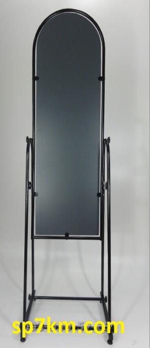 Зеркало Примерочное черного цвета 160 на 40см