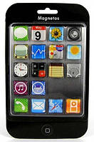 Iphone - набор магнитов 18 шт