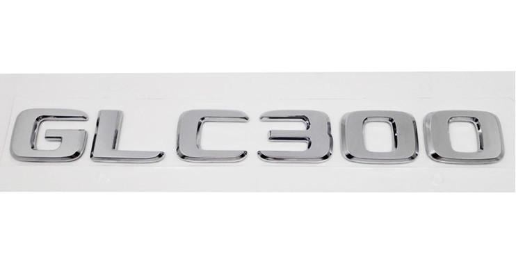 Хромированная Эмблема Шильдик надпись GLC300 Мерседес Mercedes