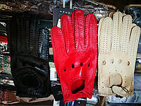 Женские кожаные перчатки для вождения