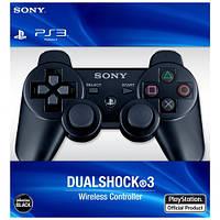Джойстик беспроводной Sony DualShock 3 PS3 для PlayStation 3 Bluetooth Черный