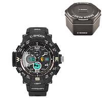 Часы мужские спортивные наручные C-SHOCK GPW-2000 Black-Brown, Box
