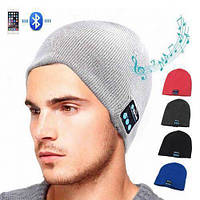 Портативна колонка Шапка з bluetooth навушниками SPS Hat BT