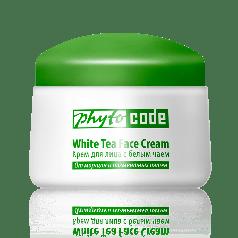 Крем для обличчя з білим чаєм Фитокод Тіанде Антивіковий догляд + УФ-захист,50 г