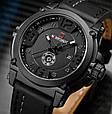 Naviforce Мужские часы Naviforce Plaza Black NF9099, фото 7
