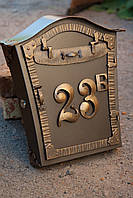 Почтовый ящик с номером дома