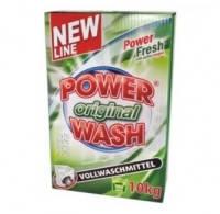 Power Wash Порошок Original 10кг. зел. (105 стирок) (картон)