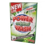 "Power Wash Порошок Original 10кг. зел. (105 стирок) (картон) - Интернет-маркет ""Малина"" в Луцке"