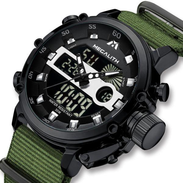 MegaLith Мужские часы MegaLith Prof Green