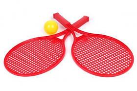 Детский набор для игры в теннис ТехноК (красный)  sco