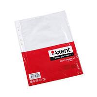 Файл для документов Axent А4+ 40 мкм глянцевый 100 шт