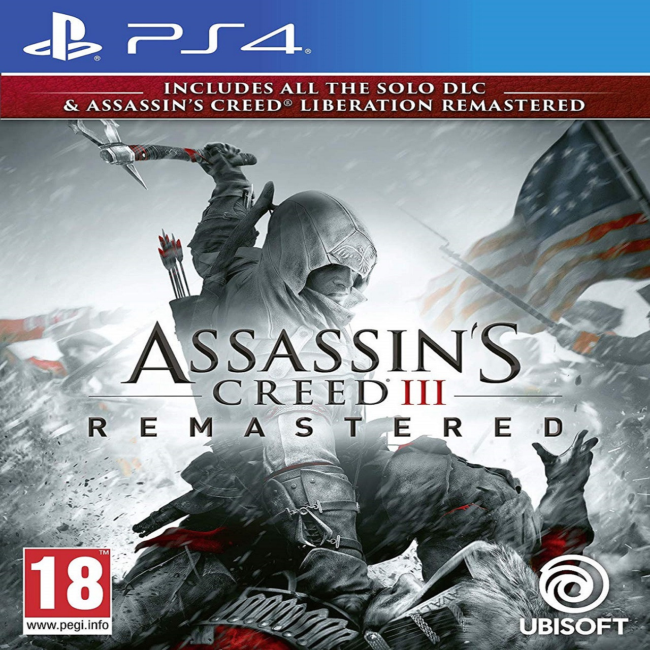 Assassin's Creed 3 Remastered RUS PS4 (NEW)