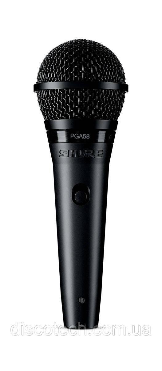 SHURE PGA58-XLR-E