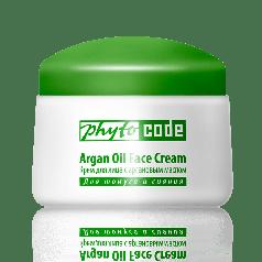 Крем для обличчя c аргановою олією Фитокод Тіанде,Антивіковий догляд + УФ-захист,50 мл