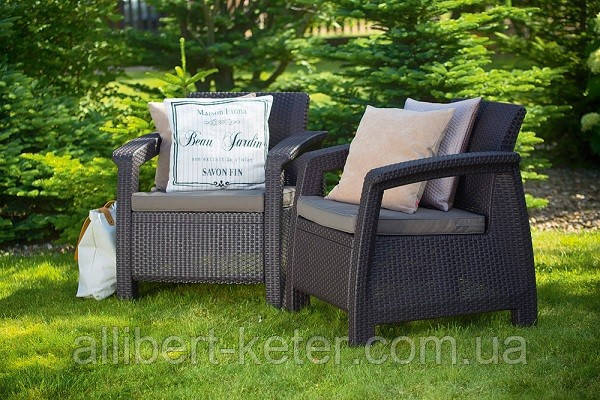 Комплект садовой мебели Allibert Corfu Duo